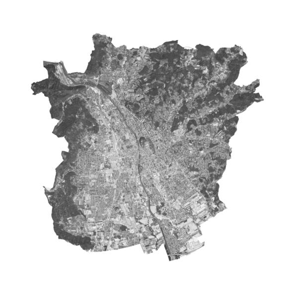 Stadtplan von Graz