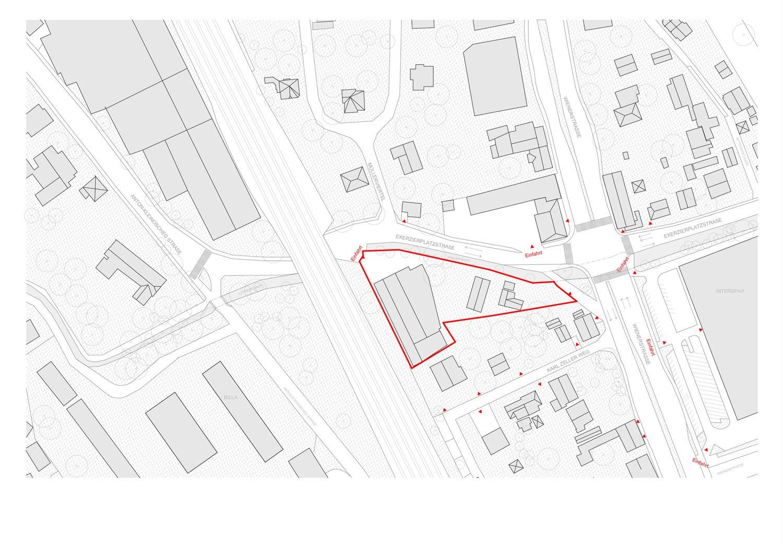 Lageplan Grundstück Exerzierplatzstraße