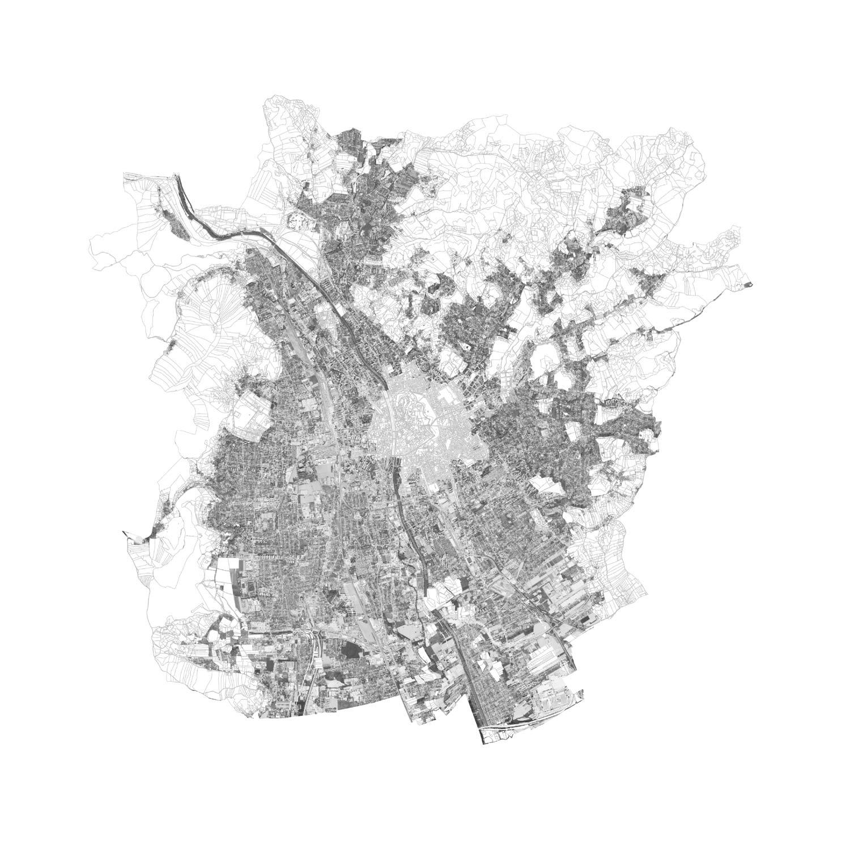 Plan mit Löschung der Altstadtschutzzone von Graz