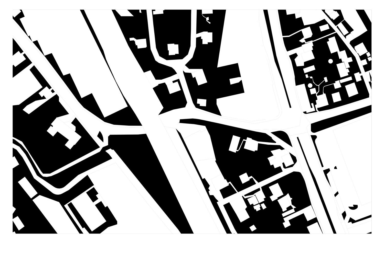 Plan unversiegelte (Grün-)Fläche