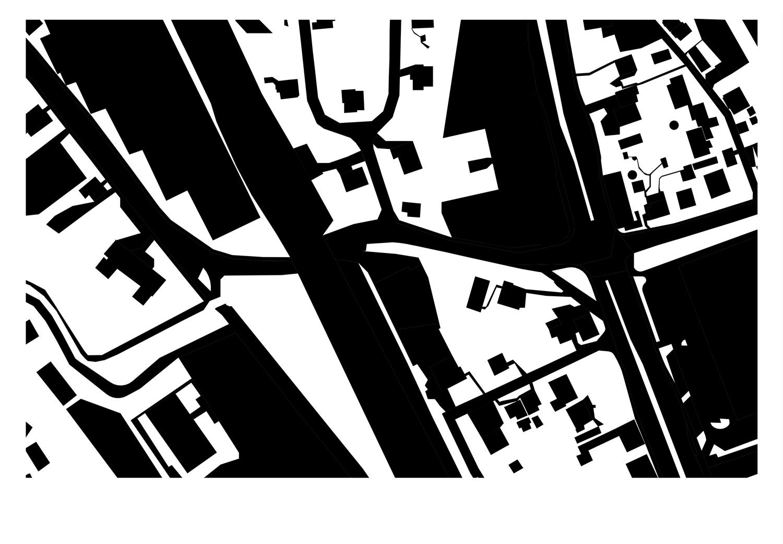 Schwarzplan Grundstück Exerzierplatzstraße