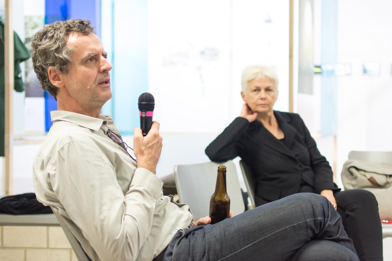 Foto mit Bernd Vlay und Sophie Wolfrum