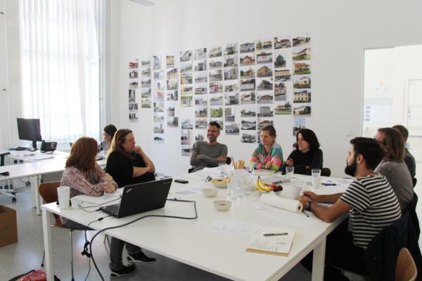 Bild vom 3. Meeting mit Projektpartner