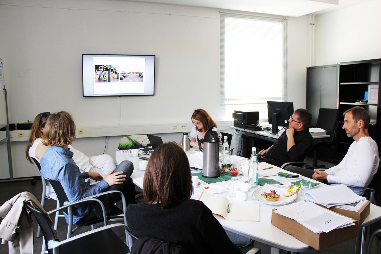 Bild vom 2. Meeting mit Projektpartnern in Potsdam