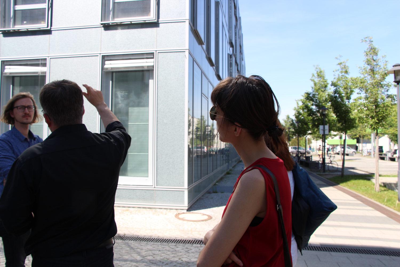 Bild vom 2. Meeting mit Projektpartnern in Potsdam mit Besichtigung Campus