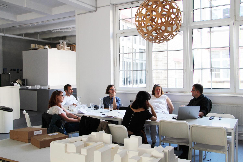 Bild vom 2. Meeting mit Projektpartnern in Berlin Büro Realarchitektur